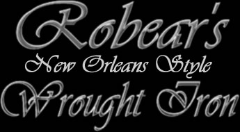 Robears New Orleans Style Wrought Iron